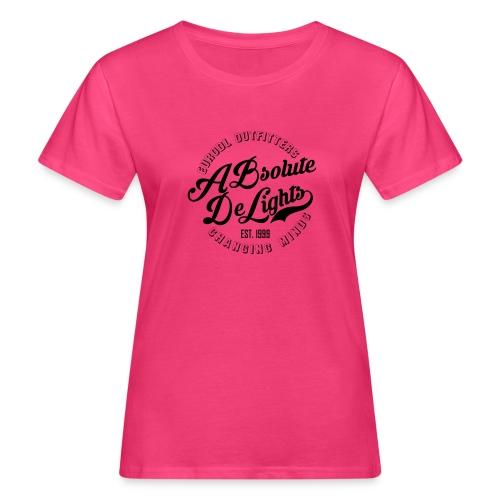 euroDL Retro T-shirt - Black - Vrouwen Bio-T-shirt