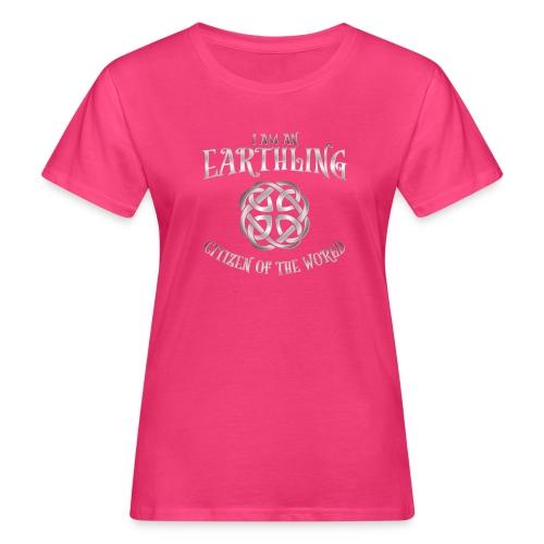 EARTHLING SILVER design - Ekologisk T-shirt dam