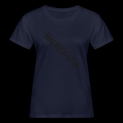 HAUKKA GYM text - Naisten luonnonmukainen t-paita