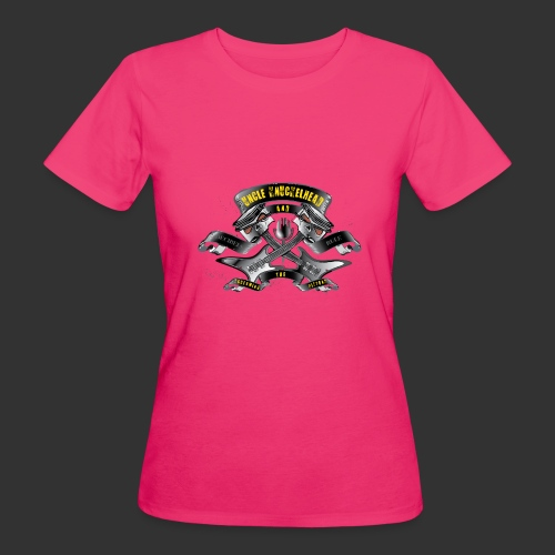 screaming pistons - Vrouwen Bio-T-shirt