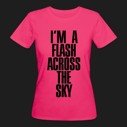 My Name Is THUNDER - T-shirt ecologica da donna