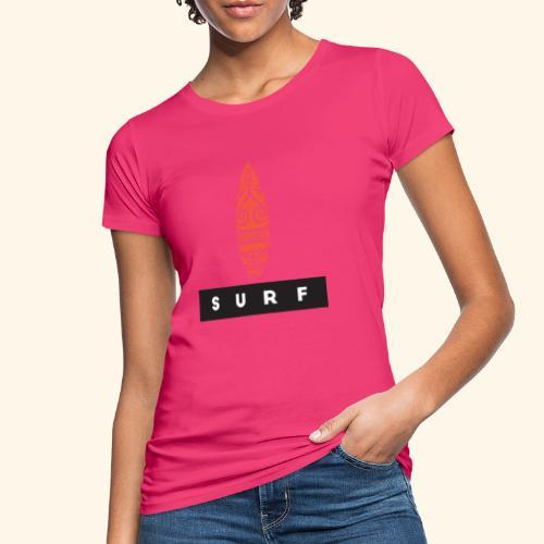 Surfing Hero by Te-Moana - Frauen Bio-T-Shirt