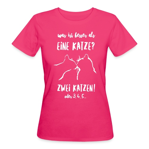 Vorschau: besser als eine Katze - Frauen Bio-T-Shirt