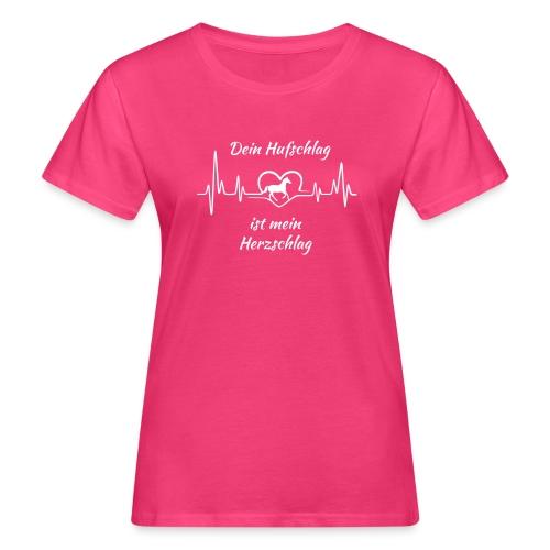 Vorschau: Dein Hufschlag - Frauen Bio-T-Shirt