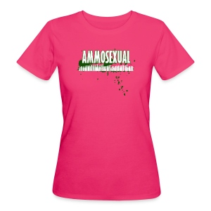 Ammosexual Multi-Caliber (white) - Frauen Bio-T-Shirt