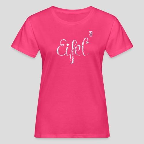 Eifel shabby chic - weiß - Frauen Bio-T-Shirt
