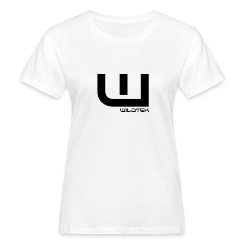 Wildtek Logo Black - Women's Organic T-Shirt
