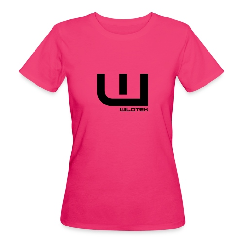Wildtek Logo Black - Women's Organic T-Shirt