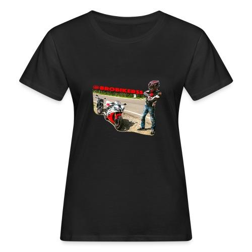 Brobikerss - T-shirt ecologica da donna