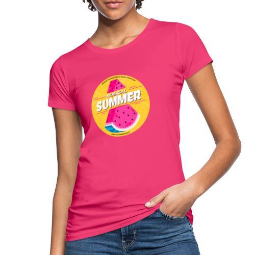 Musical Summer - T-shirt ecologica da donna