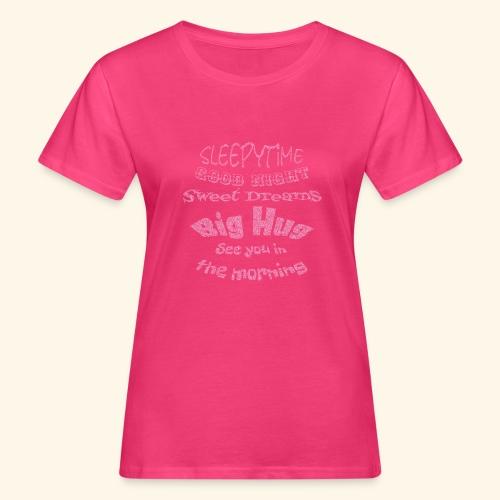 SleepyTime in soft pink - Vrouwen Bio-T-shirt