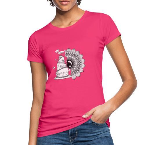 TortaMandala - T-shirt ecologica da donna
