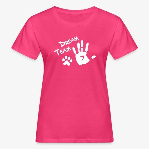 Dream Team Hand Hundpfote - Frauen Bio-T-Shirt
