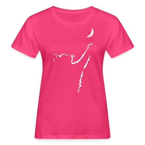 Vorschau: cat moon - Frauen Bio-T-Shirt