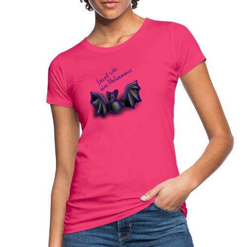 bunt wie eine Fledermaus - Frauen Bio-T-Shirt