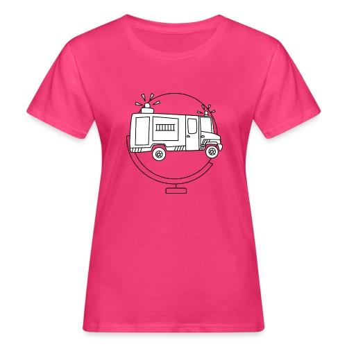 Brandweer camper - Vrouwen Bio-T-shirt