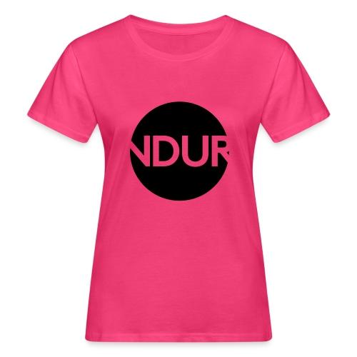 NDUR Logo rund - Frauen Bio-T-Shirt