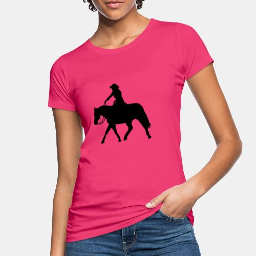 Ranch Riding extendet Trot - Frauen Bio-T-Shirt