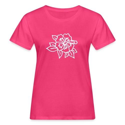 hibiskus - Frauen Bio-T-Shirt