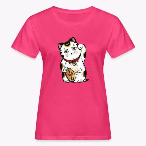 Love Lucky Cat - Women's Organic T-Shirt
