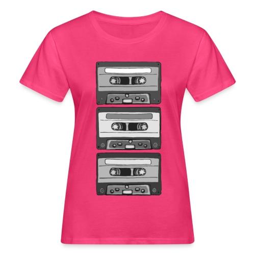 Colorless Cassettes - Ekologisk T-shirt dam