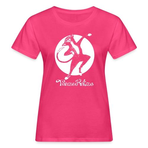 TanzeKatze - Frauen Bio-T-Shirt