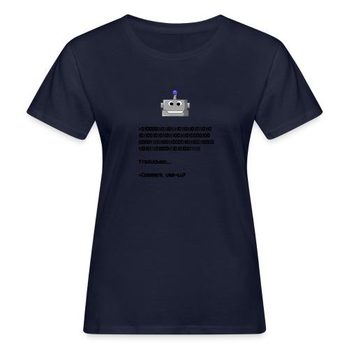Salutation robotique - T-shirt bio Femme