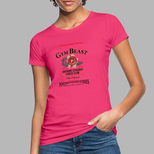GYM BEAST - Frauen Bio-T-Shirt