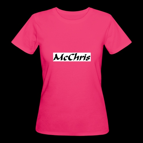 MCCHRIS - Frauen Bio-T-Shirt