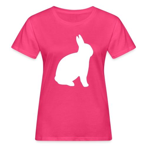 T-shirt personnalisable avec votre texte (lapin) - T-shirt bio Femme