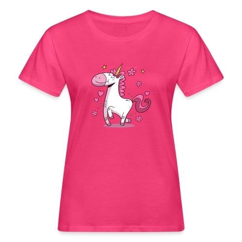 Koszulka jednorożec 4 - Ekologiczna koszulka damska