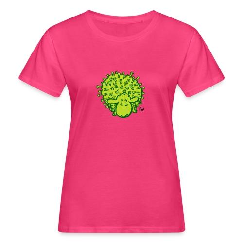 Virusschafe - Frauen Bio-T-Shirt
