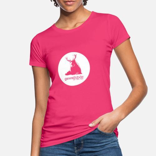 geweihbär - Frauen Bio-T-Shirt