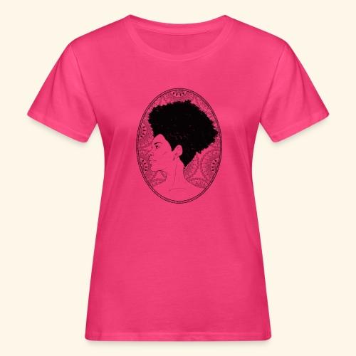 afro-mandala - T-shirt ecologica da donna