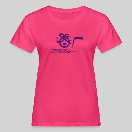 Hockey Girl II - Frauen Bio-T-Shirt