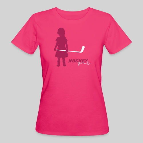 Hockey Girl I - Frauen Bio-T-Shirt