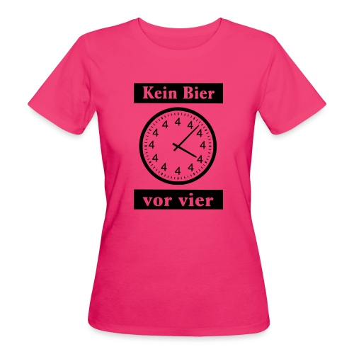 bier - Frauen Bio-T-Shirt
