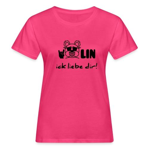 Berlin ick liebe dir / Bärlin - Frauen Bio-T-Shirt