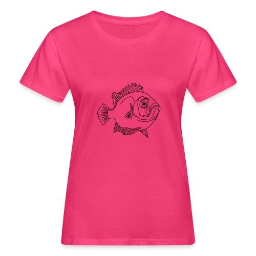 Fisch Barsch Ozean Meer Wasser Aquarium Angeln - Frauen Bio-T-Shirt