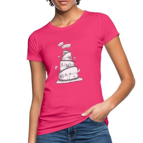Torta - T-shirt ecologica da donna