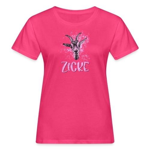 Zicke - Frauen Bio-T-Shirt