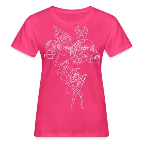 Vibrant light - Vrouwen Bio-T-shirt