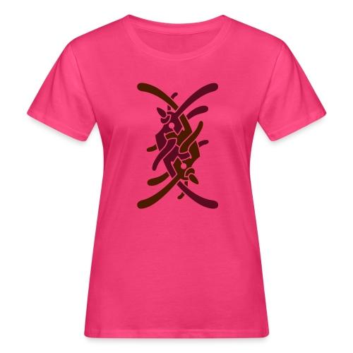 Stort logo på bryst - Organic damer