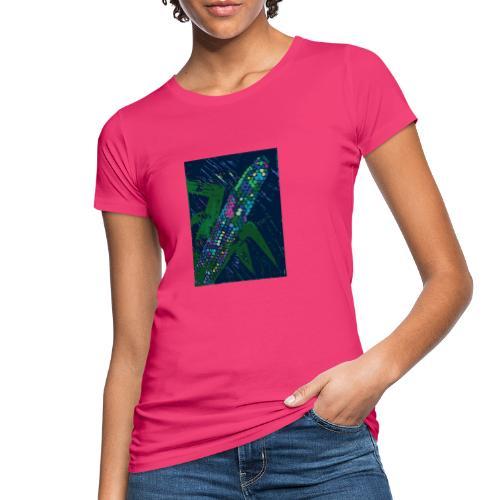 Mais blau - Frauen Bio-T-Shirt