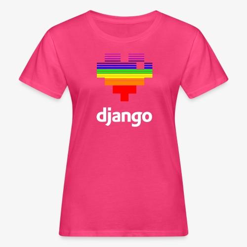 heart pride white - Women's Organic T-Shirt