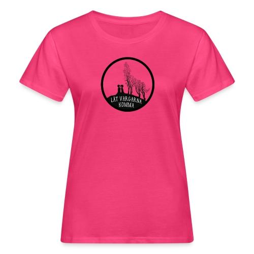 Låt vargarna kommma - Ekologisk T-shirt dam
