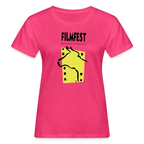 Filmfest Logo - Frauen Bio-T-Shirt