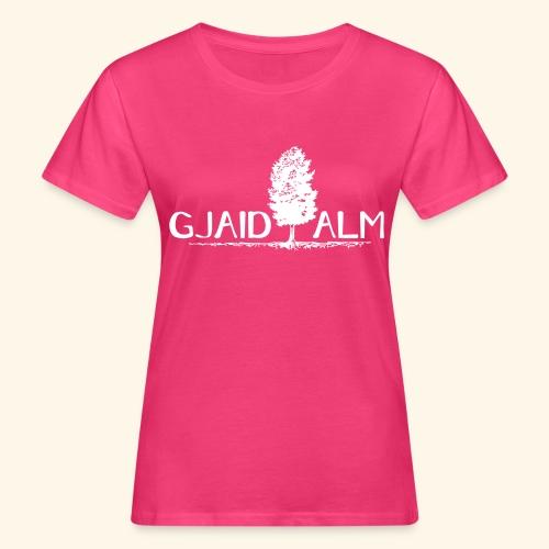 Logo Gjaid Pfade BW - Frauen Bio-T-Shirt