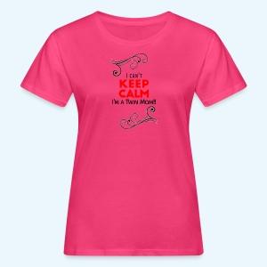 I Can't Keep Calm (voor lichte stof) - Vrouwen Bio-T-shirt