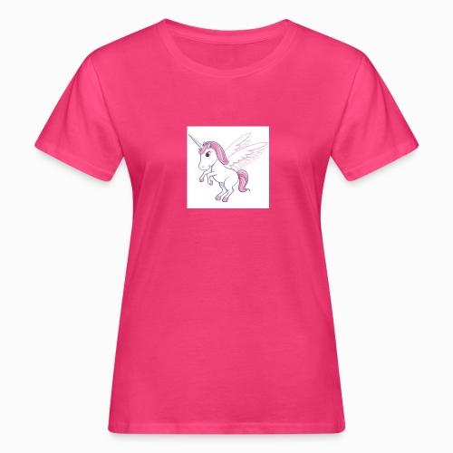 Petite licorne rose super mignonne!! - T-shirt bio Femme